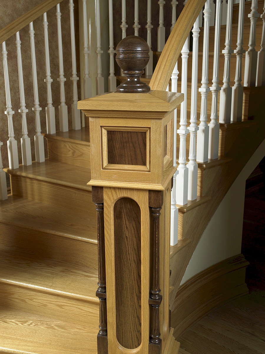 Heister House Millworks Stair Parts
